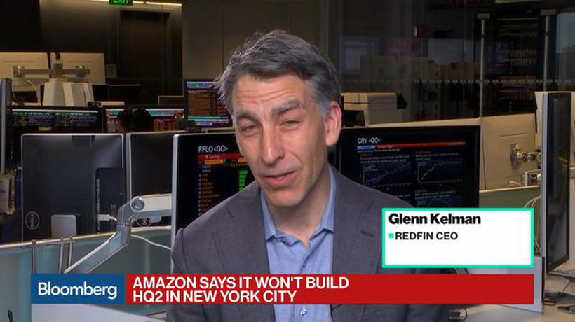 Bloomberg Technology - Amazon Scrapping HQ2 in NYC Is a Wake-Up Call to Tech, Redfin CEO
