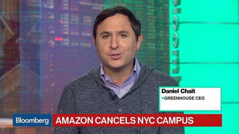 Bloomberg Technology - Greenhouse CEO Hopes Amazon's HQ2 Decision Isn't the Start of a Trend