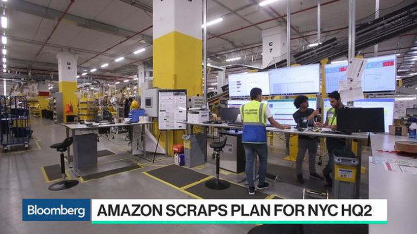 Bloomberg Technology - NY Political Leaders Failed in Amazon HQ2 Talks, Flying Fish Partner Says