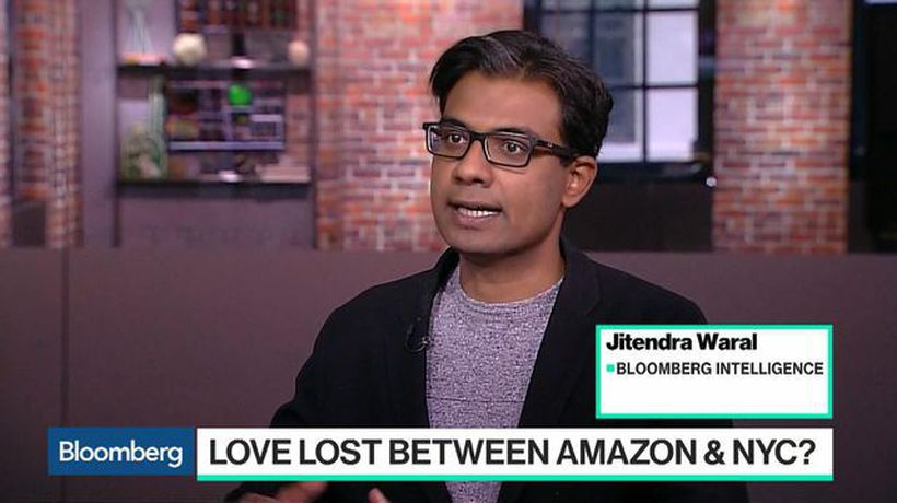 Bloomberg Technology - What Amazon's Canceled HQ2 Deal Means for New York's Tech Scene