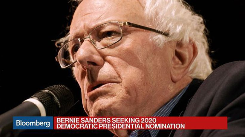 Bloomberg Surveillance - Bernie Sanders Enters the 2020 Presidential Race