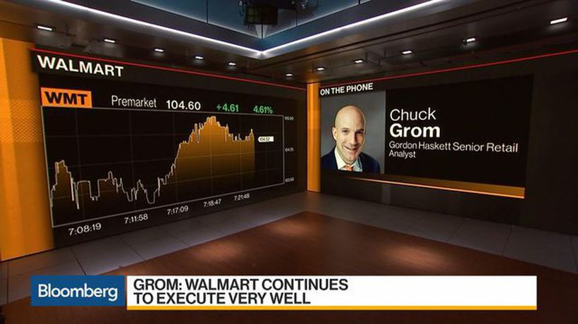 Bloomberg Daybreak: Americas - Walmart Tops 4Q Sales Comps for Best Holiday Quarter in Years