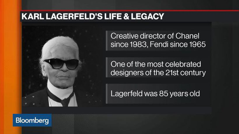 Bloomberg Markets - WWD's Lockwood Reflects on the Life and Legacy of Karl Lagerfeld