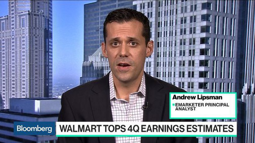 Bloomberg Technology - Walmart Is Firing on All Cylinders, EMarketer's Lipsman Says