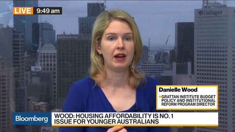 Bloomberg Daybreak: Australia - Young Australians Are Seeing Their Wealth Stagnate, Grattan's Wood Says