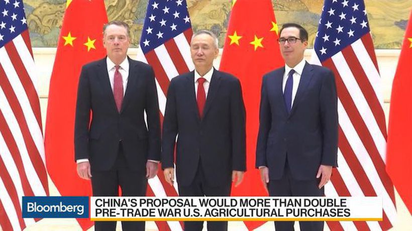 Bloomberg Daybreak: Asia - China Said to Propose $30 Billion More U.S. Agriculture Imports