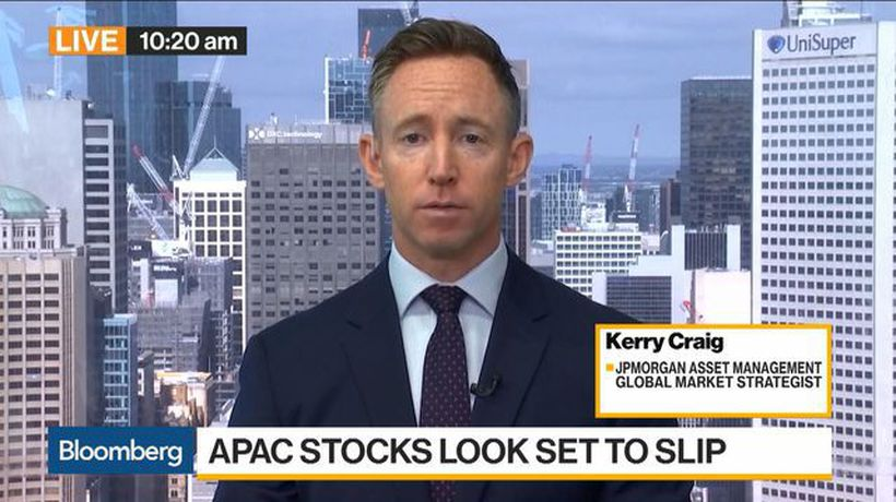 Bloomberg Daybreak: Asia - U.S. Stocks' Near-Term Strength Could Be Maintained, JPMorgan AM's Craig Says