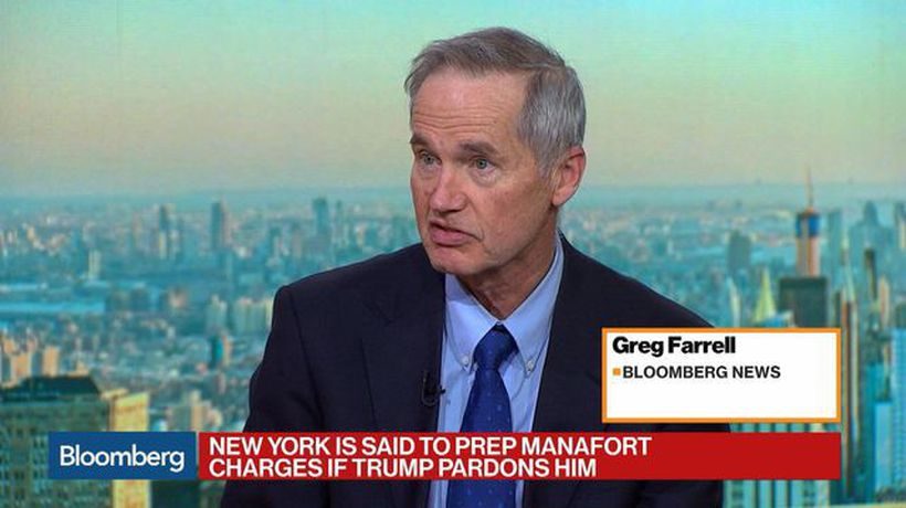 Bloomberg Markets - New York Is Said to Prep Manafort Charges in Case of a Trump Pardon