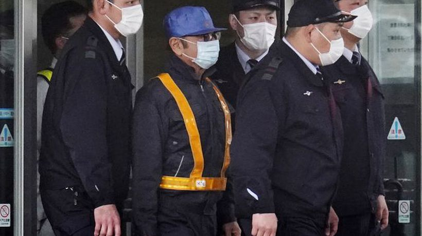 Bloomberg Markets: European Open - Carlos Ghosn Leaves Tokyo Prison, Flanked by Police Officers