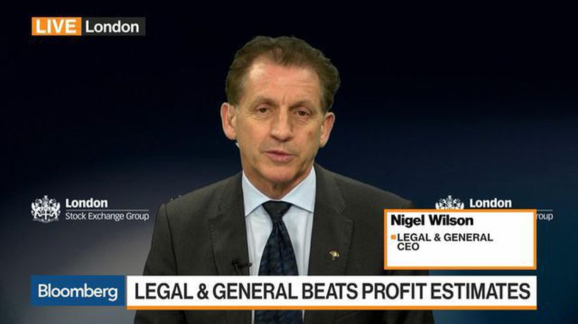 Bloomberg Markets: European Open - Legal & General CEO on Earnings, Investment Management Changes, Brexit
