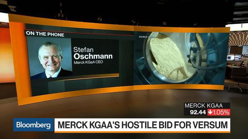 Bloomberg Markets: European Open - Merck KGaA CEO Sees Healthy Growth in All Key Parameters for 2019