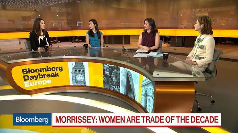 Bloomberg Daybreak: Europe - Women Are the Trade of the Decade, Says Legal & General's Morrissey
