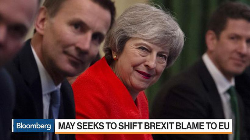 Bloomberg Markets: European Open - May Seeks to Shift Brexit Blame to EU