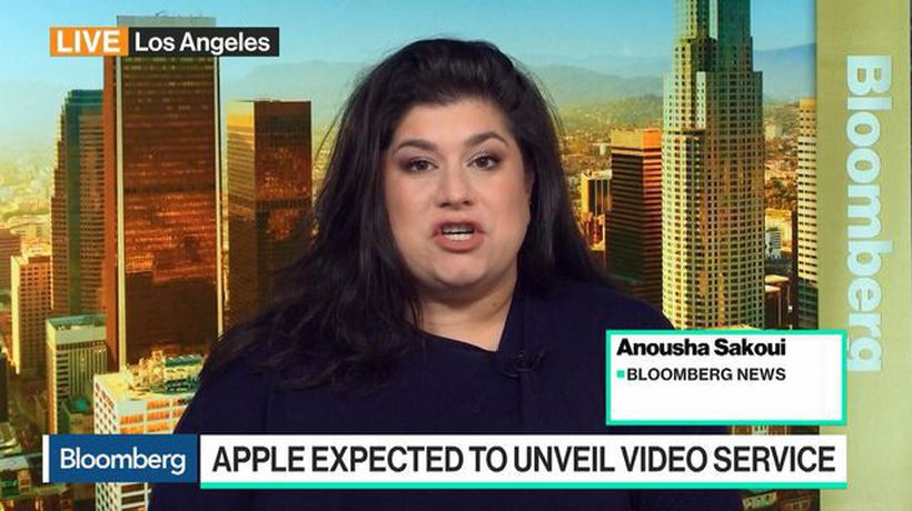 Bloomberg Daybreak: Australia - Apple Expected to Unveil Video, News Services at March 25 Event