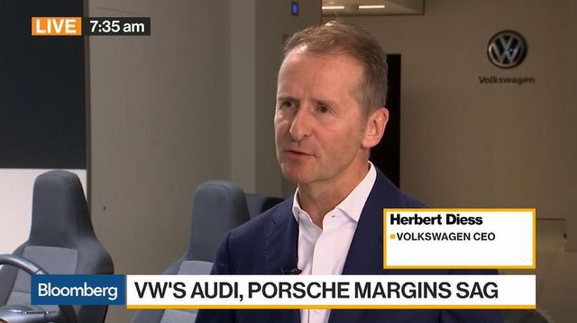 Bloomberg Daybreak: Europe - Volkswagen Aims to Keep Profitability at 2018 Level This Year, Says CEO