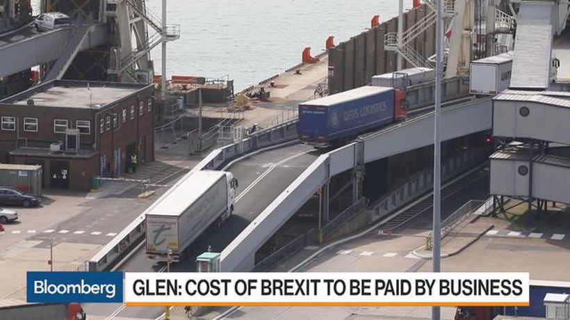 Bloomberg Markets: European Open - Potential for Brexit Border Delay Chaos Is `Enormous': Study Says