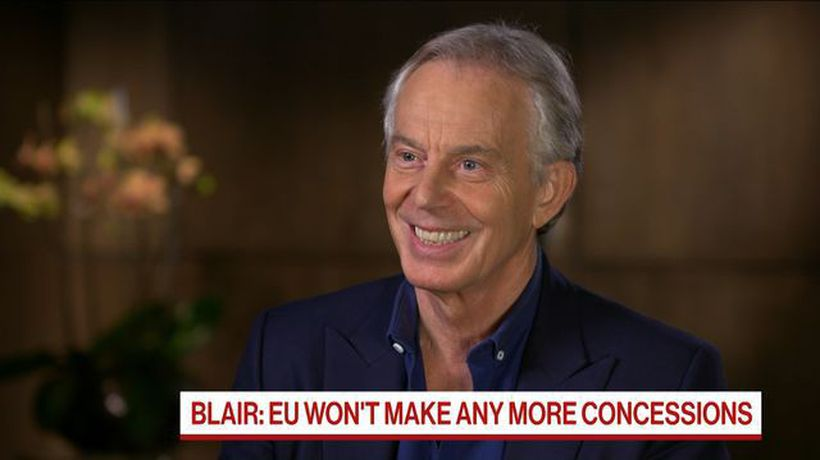 Bloomberg Markets - Final Say on Brexit Should Be With the British People, Tony Blair Says