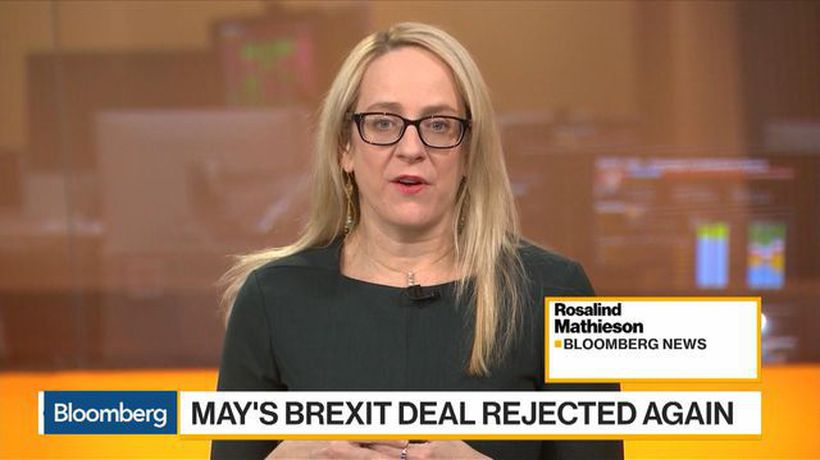Bloomberg Daybreak: Europe - May's Brexit Plan Fails, Delay Likely