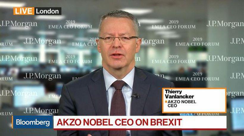 Bloomberg Markets: European Open - Akzo Nobel CEO Sees 'Dire Need' for Some Certainty on Brexit