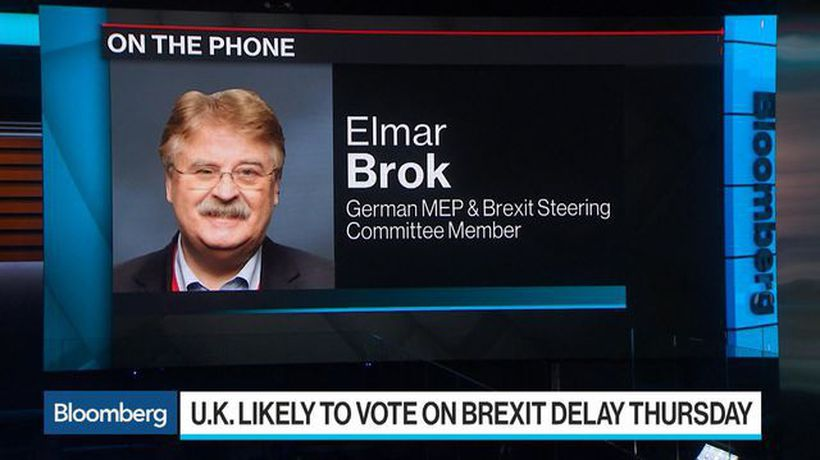 Bloomberg Surveillance - No Need or Purpose for Brexit Extension, Germany's Brok Says