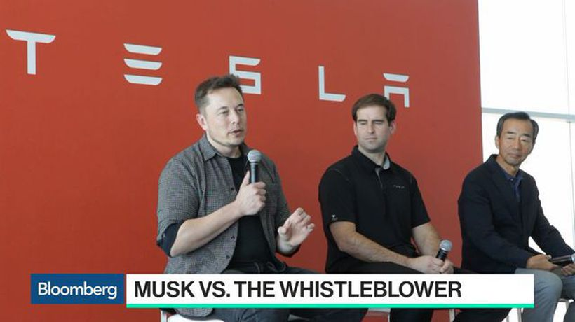 Bloomberg Technology - The Wild Ride of Elon Musk and the Tesla Whistleblower