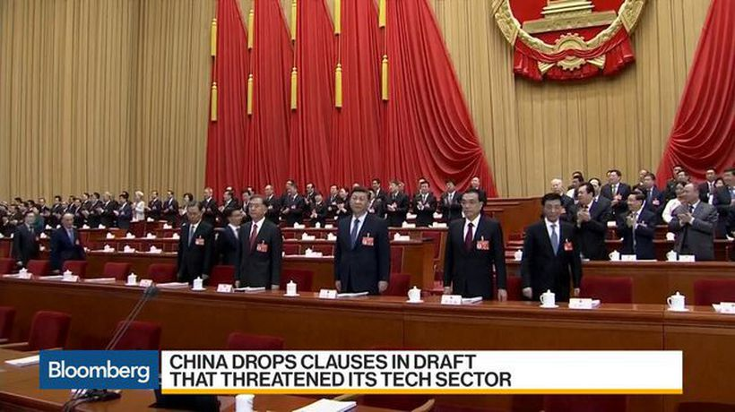 Bloomberg Daybreak: Asia - China's New Investment Law Looms Over Foreign Firms