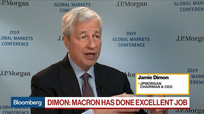 Bloomberg Daybreak: Americas - Dimon Says Politics Is 'Just Not Me,' 'I Love What to Do'