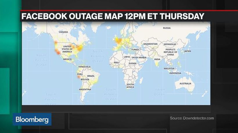 Bloomberg Technology - Facebook Outage Underscores Risk of Integrated System, Techonomy Founder Says