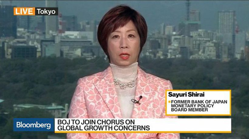 Bloomberg Daybreak: Asia - BOJ Should Adopt Inflation Target Range, Fmr. Board Member Shirai Says
