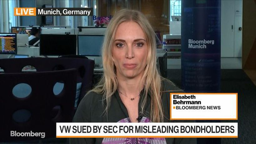 Bloomberg Markets: European Close - Volkswagen Faces SEC Lawsuit for Misleading Bondholders