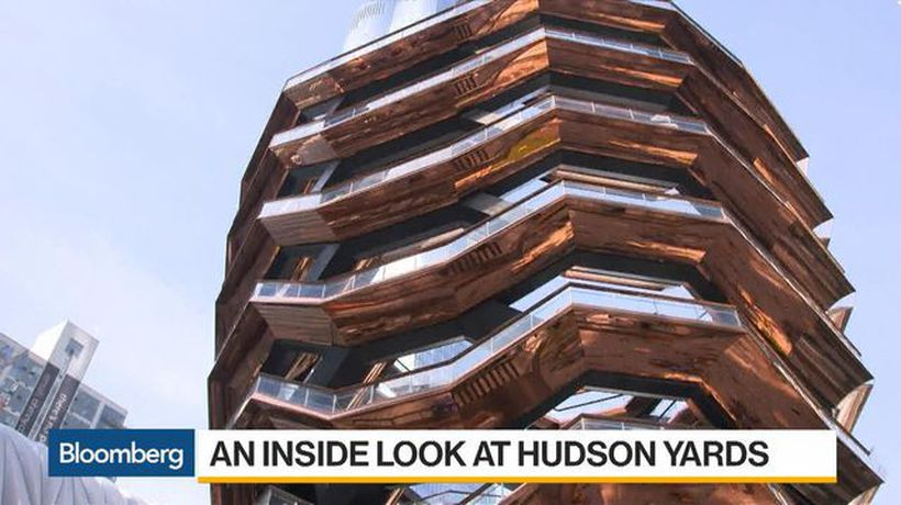 Bloomberg Daybreak: Americas - An Inside Look and 'Wow' Moment at Hudson Yards