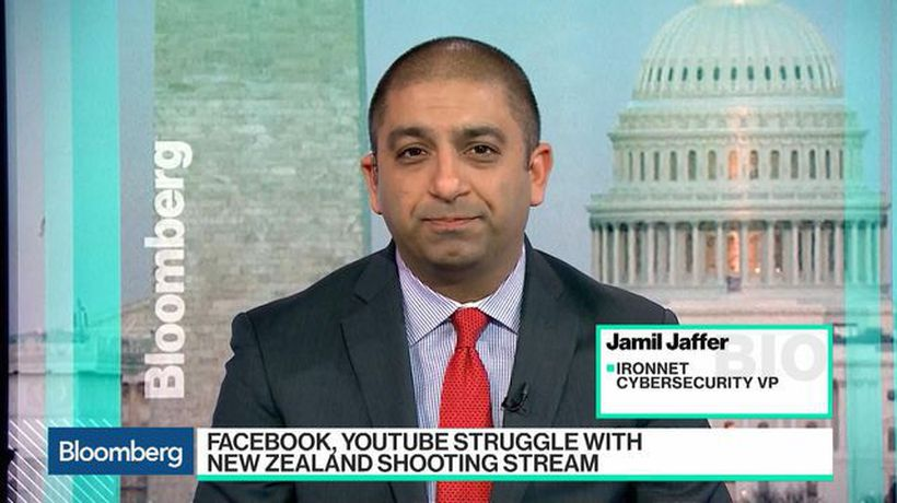 Bloomberg Technology - Legislation Isn't Right Answer to Controlling Social Media Content, IronNet's Jaffer Says