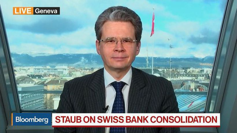 Bloomberg Daybreak: Europe - Expect More Bank Consolidation Throughout Europe, Says Vontobel's CEO