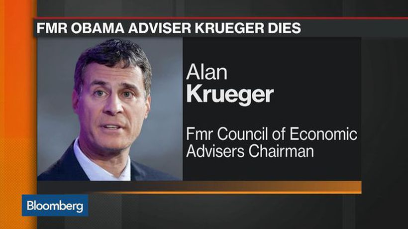 Bloomberg Markets - Alan Krueger, Princeton Economist, Obama Economic Aide, Dies at 58