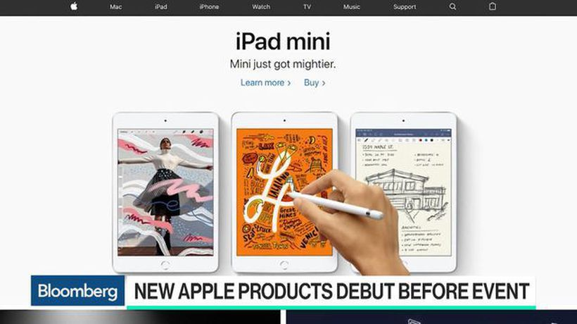 Bloomberg Technology - Apple Debuts Mid-Tier IPad With Larger Screen and New iPad Mini