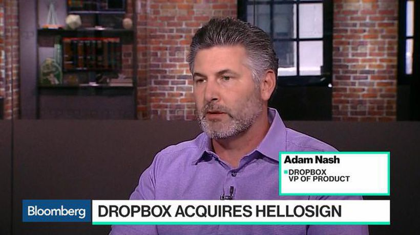 Bloomberg Technology - Dropbox Is Helping to Create a 'More Enlightened' Way to Work, VP Nash Says