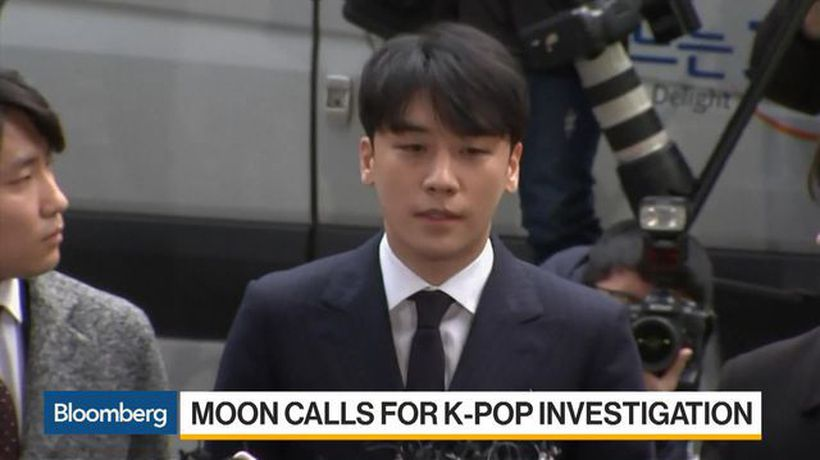 Bloomberg Daybreak: Asia - South Korea's Moon Calls for Investigation Into K-Pop Scandal