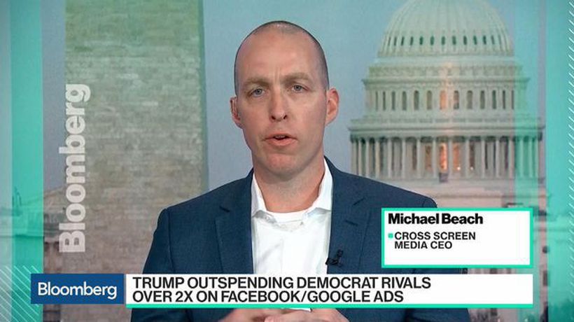Bloomberg Technology - Facebook's Role in Politics Keeps Growing, Cross Screen Media CEO Says