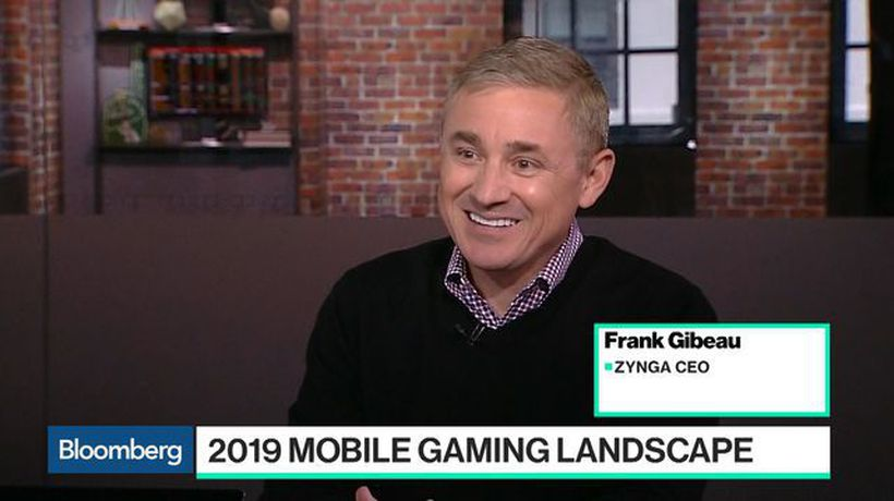 Bloomberg Technology - Zynga Is a Mobile-First and 'Platform Agnostic' Company, CEO Says