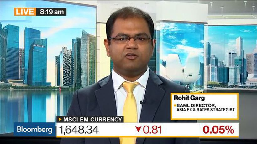 Bloomberg Daybreak: Asia - Indian Rupee Likely to Strengthen at Least in Short Term, BoAML's Garg Says