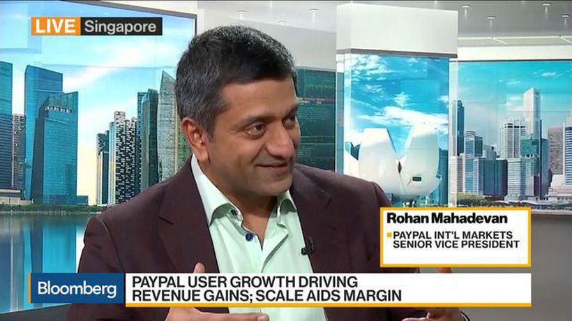 Bloomberg Daybreak: Asia - PayPal's Mahadevan Says Most Growth Coming From Asia