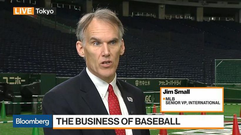 Bloomberg Markets: Asia - MLB Looking at India, Brazil, Europe for Expansion, Senior VP Small Says
