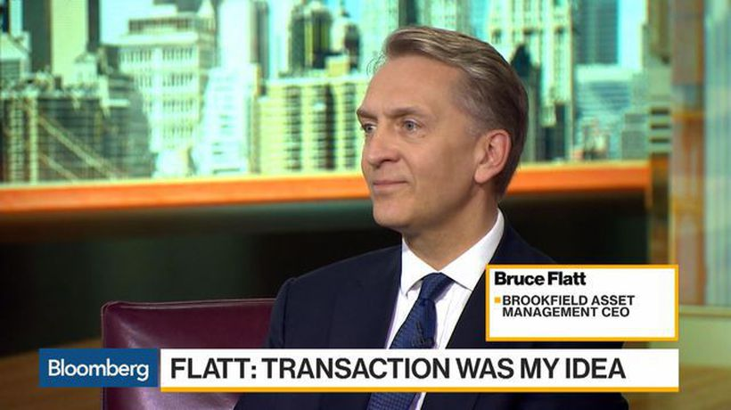 Bloomberg Daybreak: Americas - Brookfield's Flatt Says Oaktree Deal Driven by Need for Credit