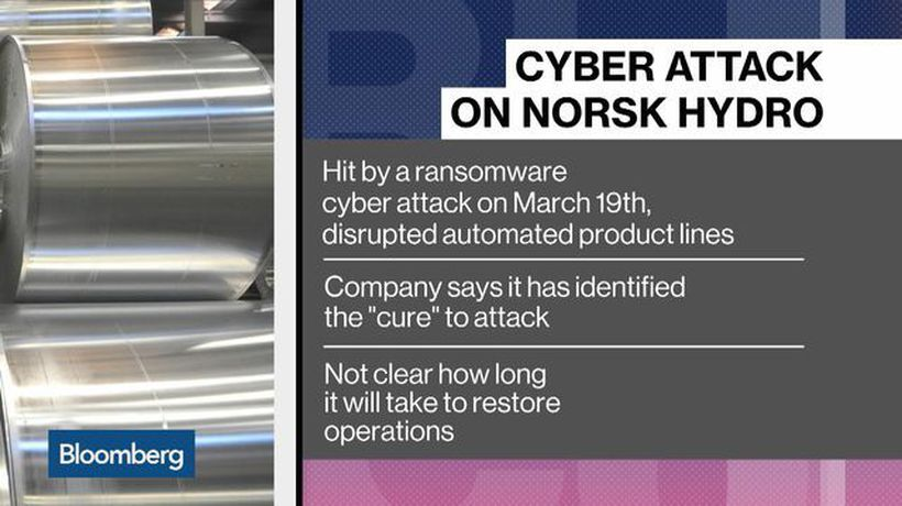 Norsk Hydro Identifies a 'Cure' for Cyber Attack That Disrupted Operations