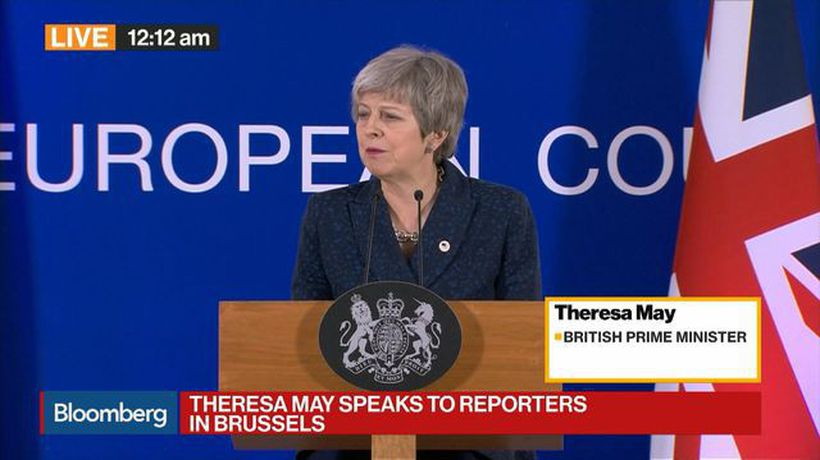 May: We Are Now at the Moment of Decision