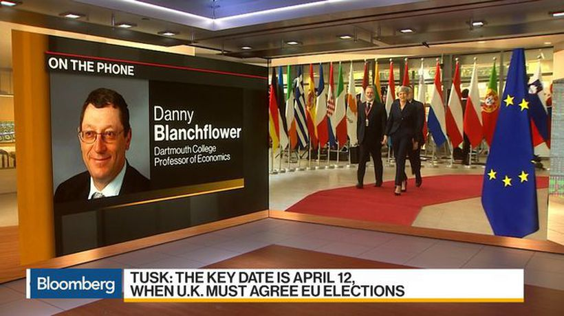 Bloomberg Daybreak: Australia - Blanchflower Says Hard to See How Anything Can Change by April 12 in Brexit Talks