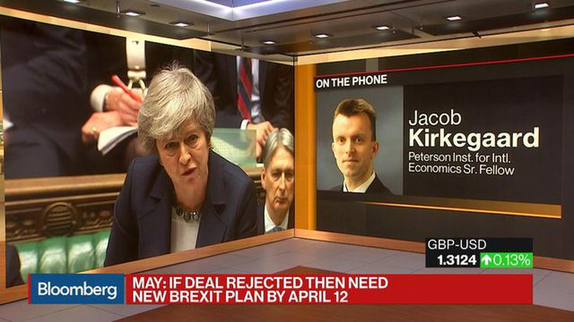 Bloomberg Daybreak: Asia - Odds of a No-Deal Brexit Still Very Low, Says Peterson Institute's Kirkegaard