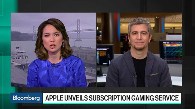 Bloomberg Technology - Apple Arcade Helps Developers Compete on Equal Footing, Bossa Studios Co-Founder Says
