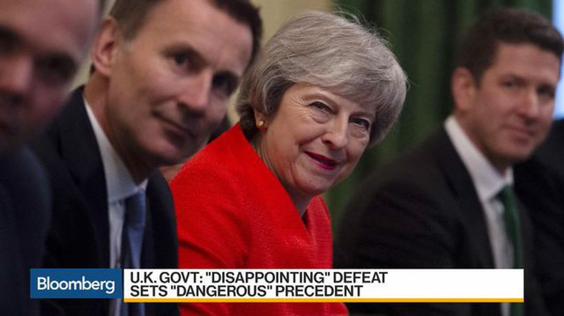Bloomberg Daybreak: Asia - Defeat for May Hands Control of Brexit Process to Parliament