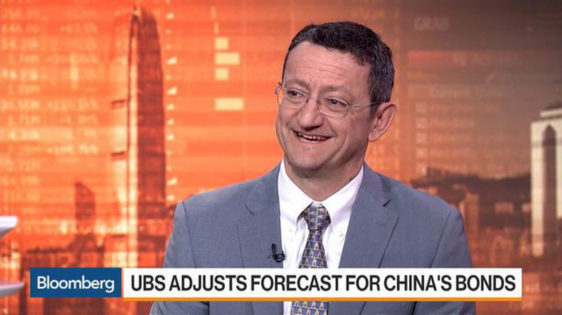 UBS Adjusts Forecast for China's Bonds